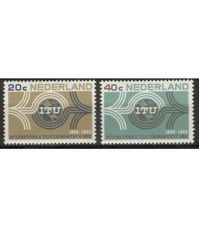 840 - 841 I.T.U zegels (xx)