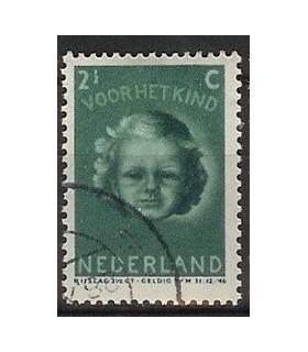 445 Kinderzegel (o)