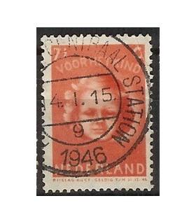 447 Kinderzegel (o)