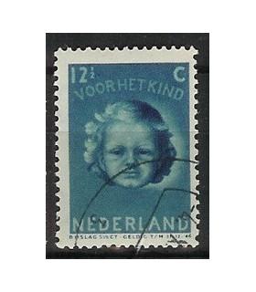 448 Kinderzegel (o)