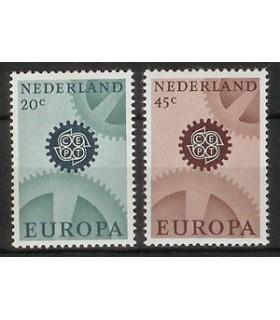 884 - 885 Europazegels (xx)
