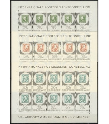 0886 - 888 Amphilexzegels (xx)