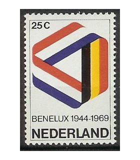 930 Benelux-zegel (xx)