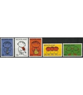 932 - 936 Kinderzegels (xx)