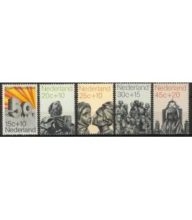 0985 - 989 Zomerzegels (xx)