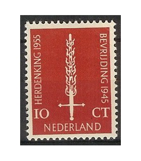 660 Bevrijdingszegel (xx)