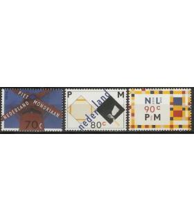1595 - 1597 Mondriaanzegels (xx)