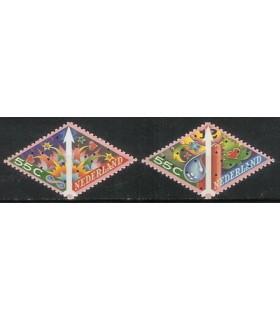 1579 - 1580 Decemberzegels (xx)