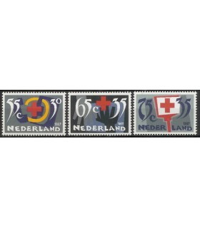 1381 - 1383 Rode Kruis (xx)