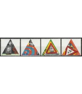 1340 - 1343 Kinderzegels (xx)