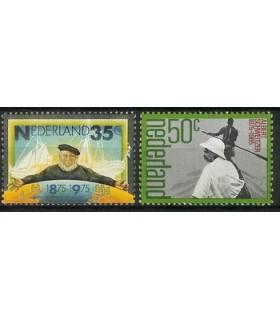 1073 - 1074 Herdenkingszegel (xx)