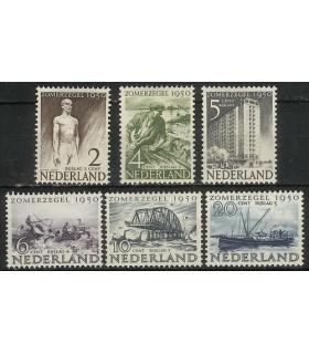 550 - 555 Zomerzegels (x)