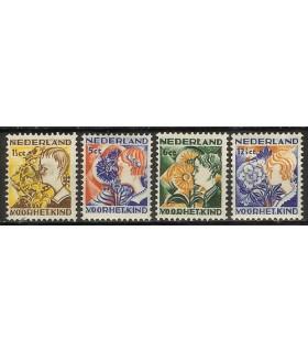 248 - 251 Kinderzegels (x)