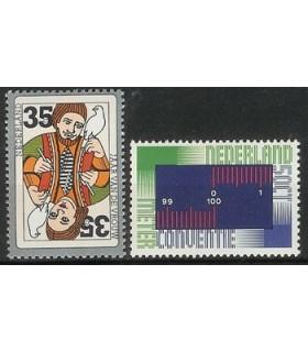 1075 - 1076 Internationale serie (xx)