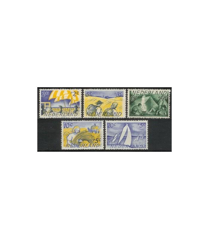 513 - 517 Zomerzegels (xx)