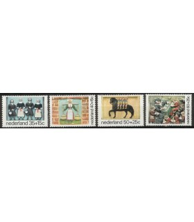 1079 - 1082 Kinderzegels (xx)