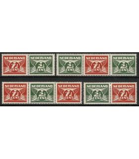 379a - 379d Vliegende Duif (xx)