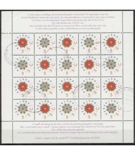 1542 - 1543 Decemberzegels (o)