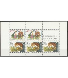 1214 Kinderzegels (xx)