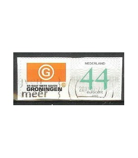 Bedrijfspostzegel Groningen (o)