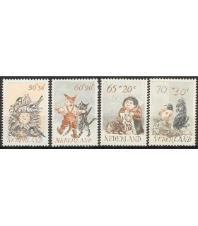 1275 - 1278 Kinderzegels (xx)