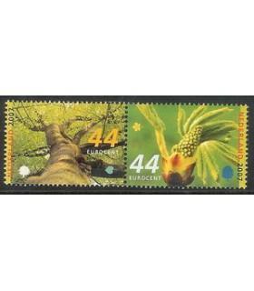2493 - 2494a Bomen in paar (xx)