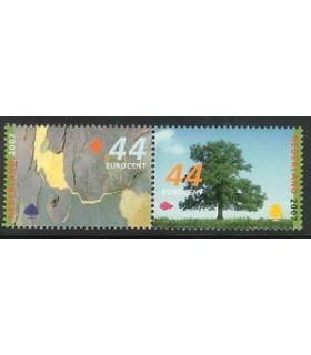 2510 - 2511a bomen paar (xx)
