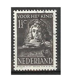 397 Kinderzegel (o)