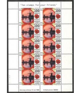 1681 Vakantiezegel vel (xx)