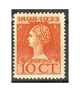 124 Jubileumzegel (xx)