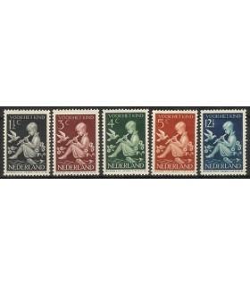 313 - 317 Kinderzegel (xx)
