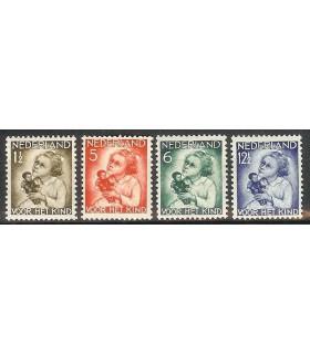 270 - 273 Kinderzegels (xx)