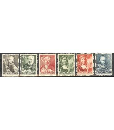 350 - 355 Zomerzegels (xx)