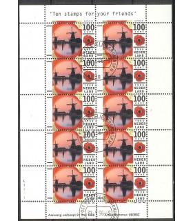 1681 Vakantiezegel vel (o)