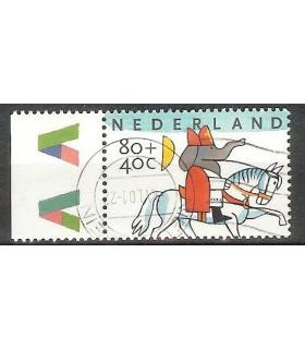 1784 Kinderpostzegel (o) TAB