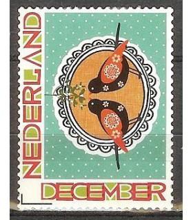 2897 Decemberzegel, vogelpaar (xx)
