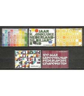 2816 - 2820 Jubileumzegels (xx)