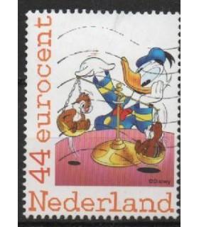 2562Ab-04 Donald, Knabbel en Babbel (o)