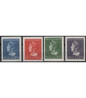 346 - 349 Koningin Wilhelmina (x) 2.