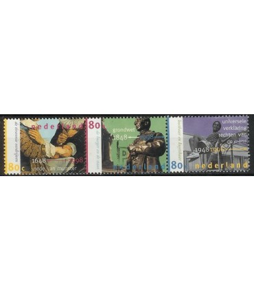 1753 - 1755a Gecombineerde uitgifte (o)