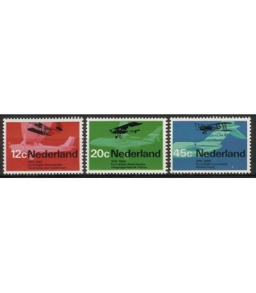 909 - 911 Luchtvaartzegels (xx)