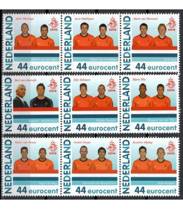 PP24 WK-voetbal (xx) 9 stuks