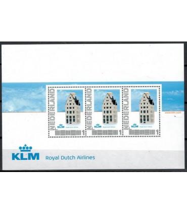2751 D-25 Delfts Blauwe KLM-huisjes (xx)