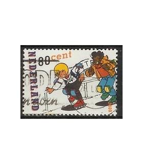1919 Strippostzegel (o)