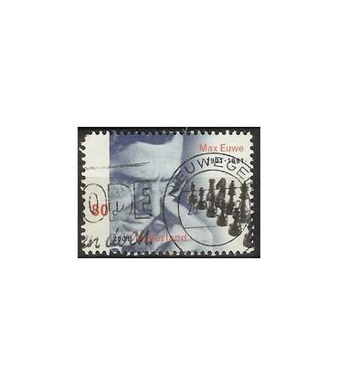 1969b Max Euwe zegel (o)