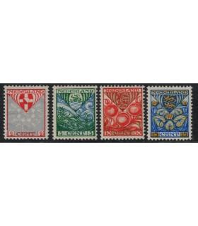 199a - 202a Kinderzegels (x)