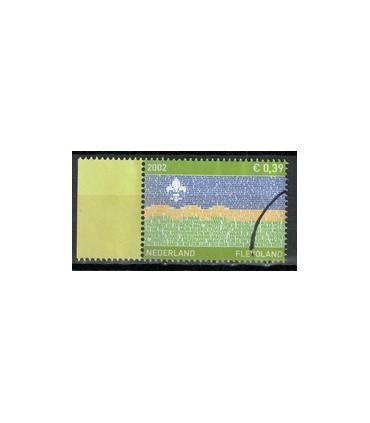 2076 Provinciezegel TAB (o) groen