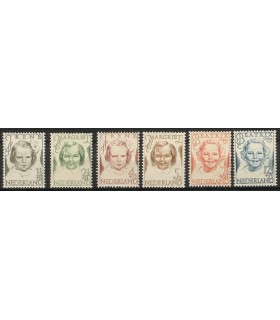 454 - 459 Prinsessenzegel (x)
