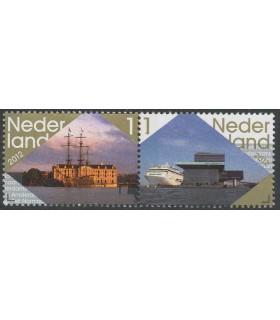 2912 - 2913 Bezoek Amsterdam (xx)