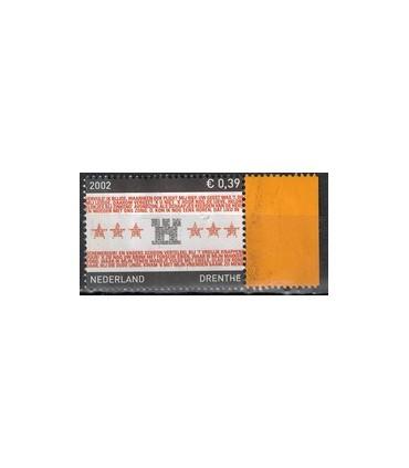2066 Provinciezegel (o) oranje flap